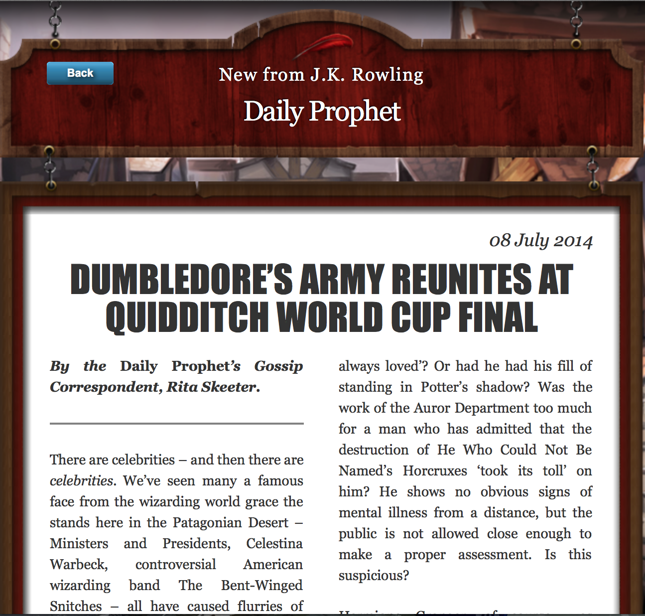 dumbledore s army reunites at quidditch world cup final new post screen shot 2014 07 08 at 7 32 36 am